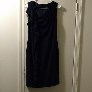 Vince Camuto Navy Dress